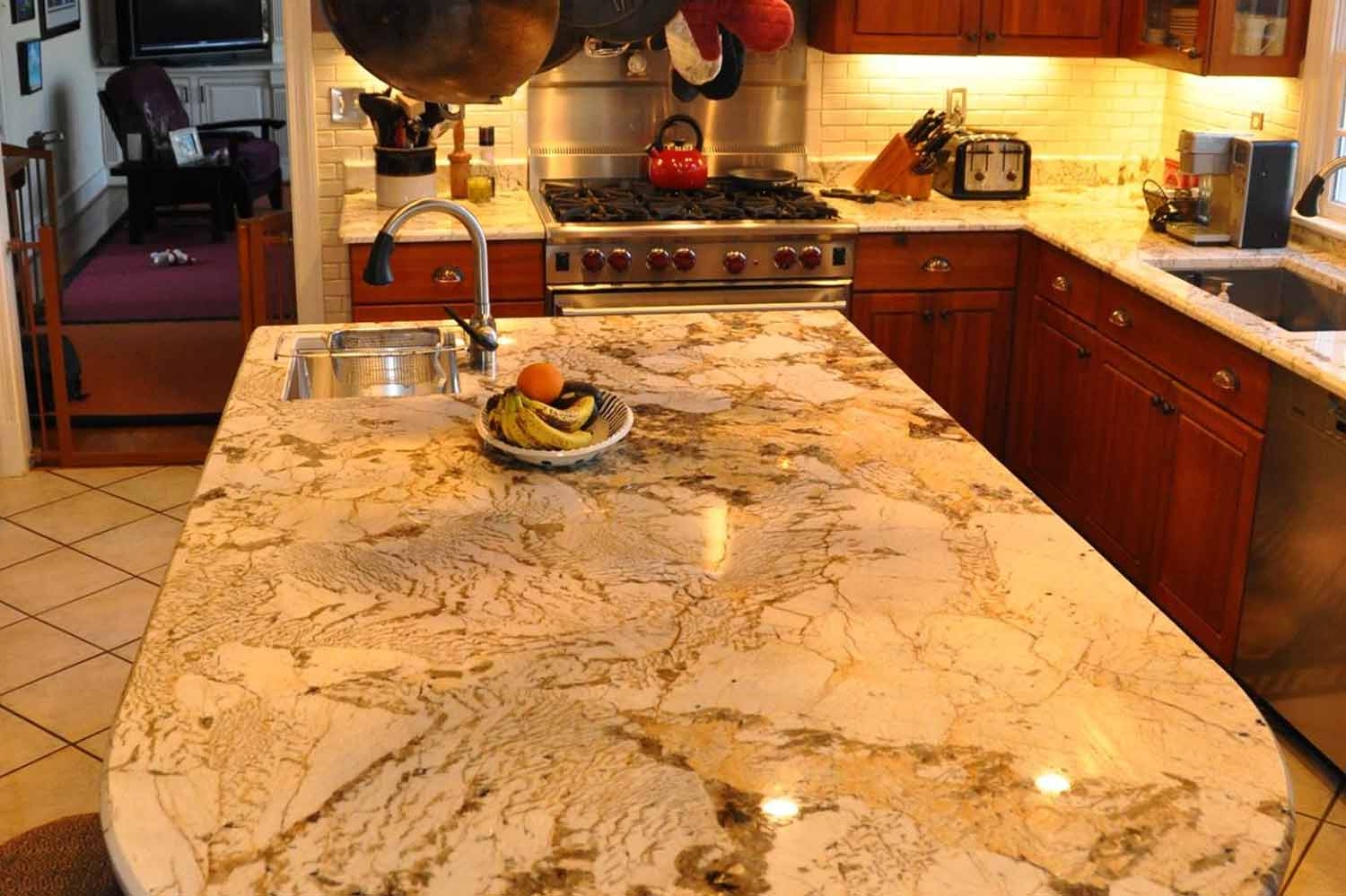 Granite Countertop For Kitchen : granite tile counter tops photo gallery