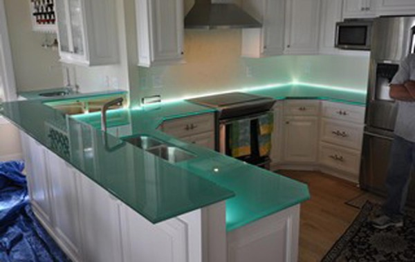 Glass Kitchen Countertops