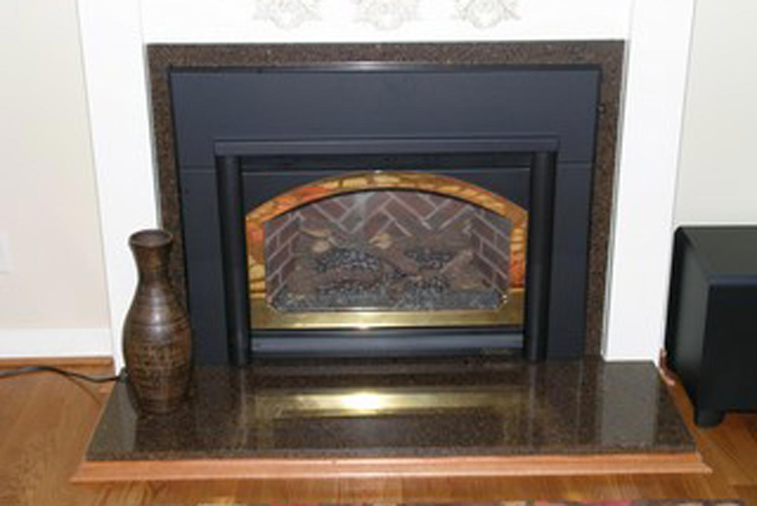 fireplace surround hearth