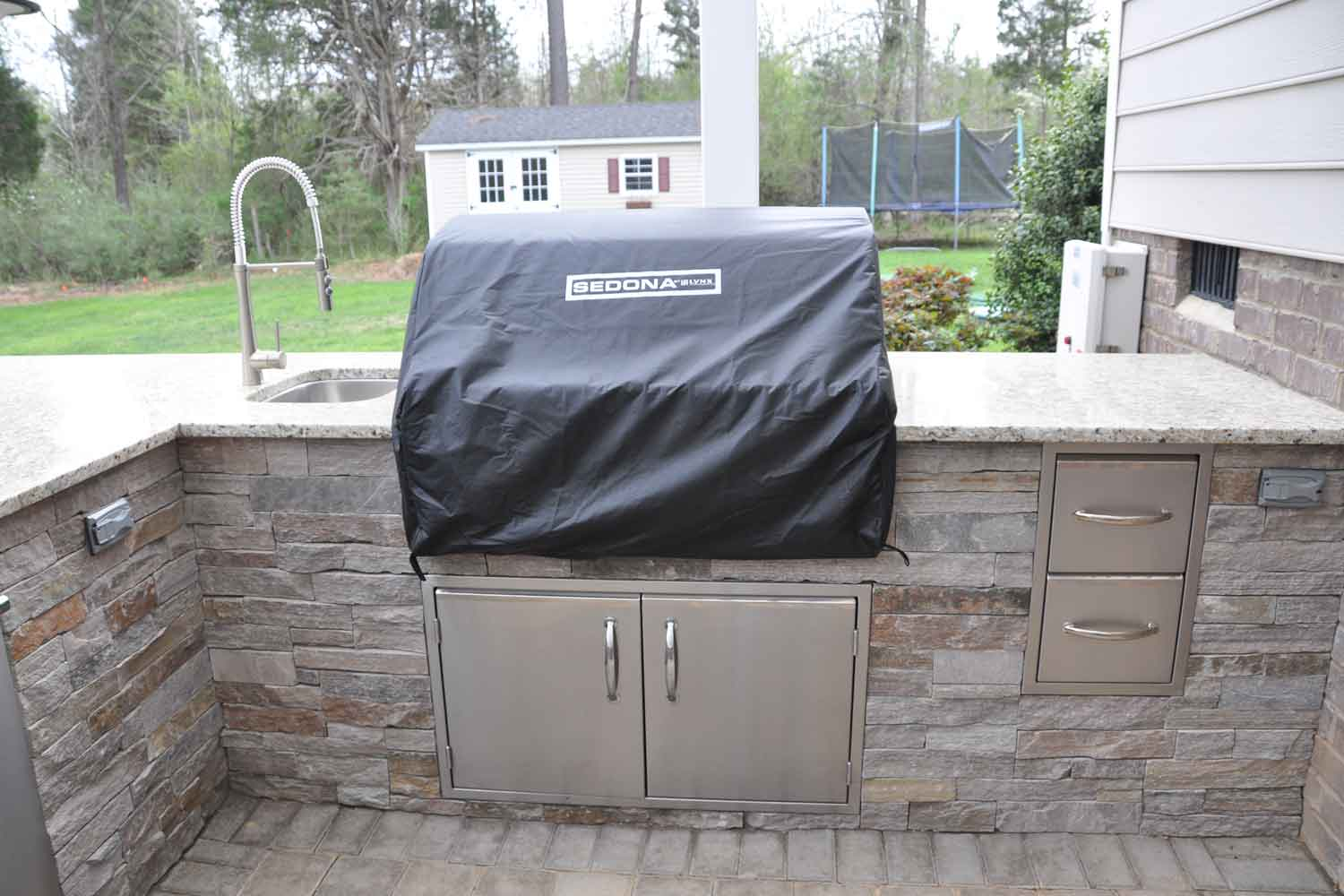 Granite For Outdoor Kitchen Granite Outdoor Countertops