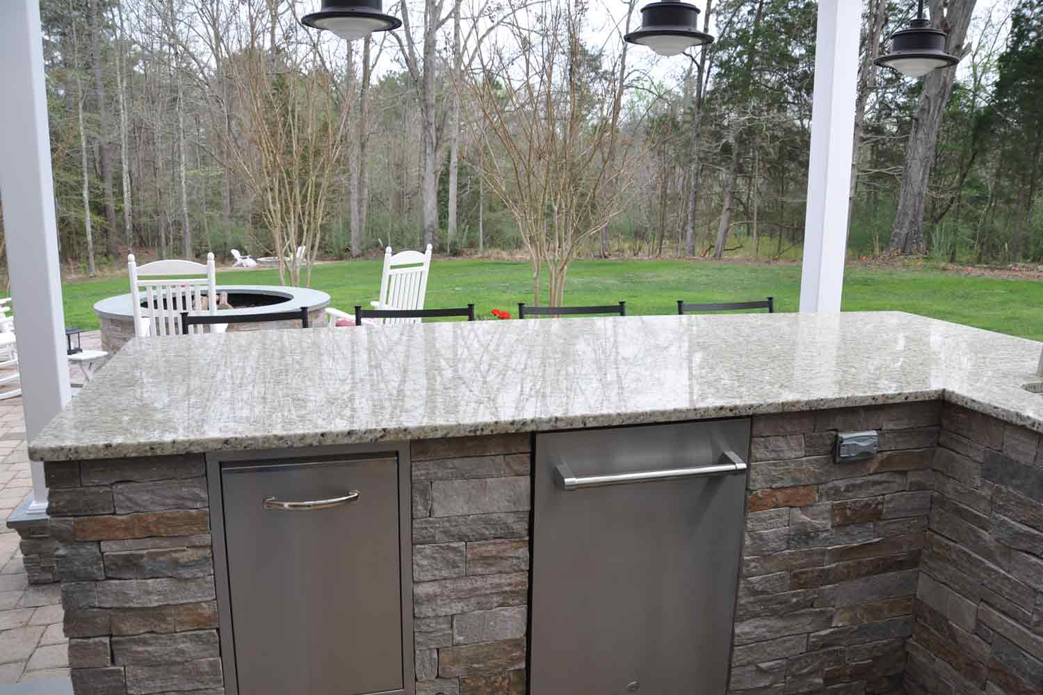 Outdoor Kitchen Countertop Countertops For Outdoor Kitchens