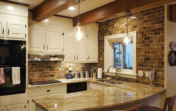 Colonial Dream Granite Kitchen