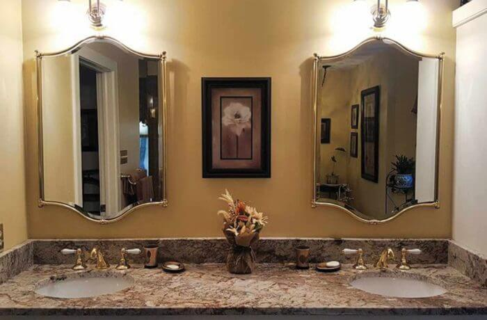 Bathroom Mirrors Richmond Va kitchen & bathroom granite installation | richmond, va