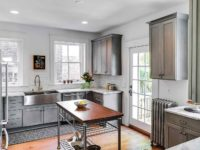 White Carrara Marble Kitchen