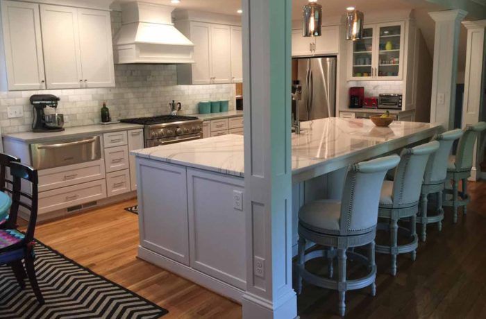 Quartz Countertops & Island